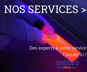 Services BABBCO analyse metrologie photos