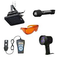 Equipements et lampes pour le controle non destructif (CND)